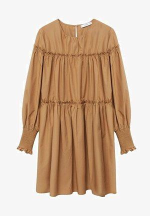 LIN - Denní šaty - mittelbraun