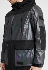 Topman - IRRESDESCENT PUFFER - Giacca invernale - black - 6