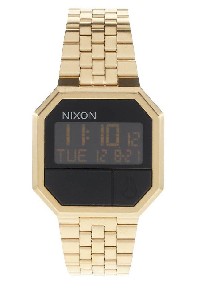 RE-RUN - Digital watch - goldfarben