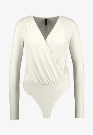 YASMADONNA BODYSTOCKING - T-shirt à manches longues - white swan