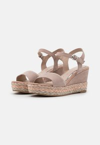 Marco Tozzi - BY GUIDO MARIA KRETSCHMER - High heeled sandals - nude - 2