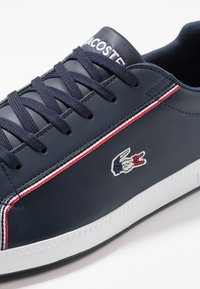 Lacoste - GRADUATE - Tenisky - navy/white/red - 5