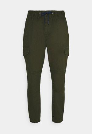 JOGGER - Pantalon cargo - dark olive