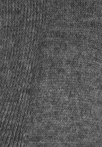 YAS - Kardigan - dark grey melange - 5