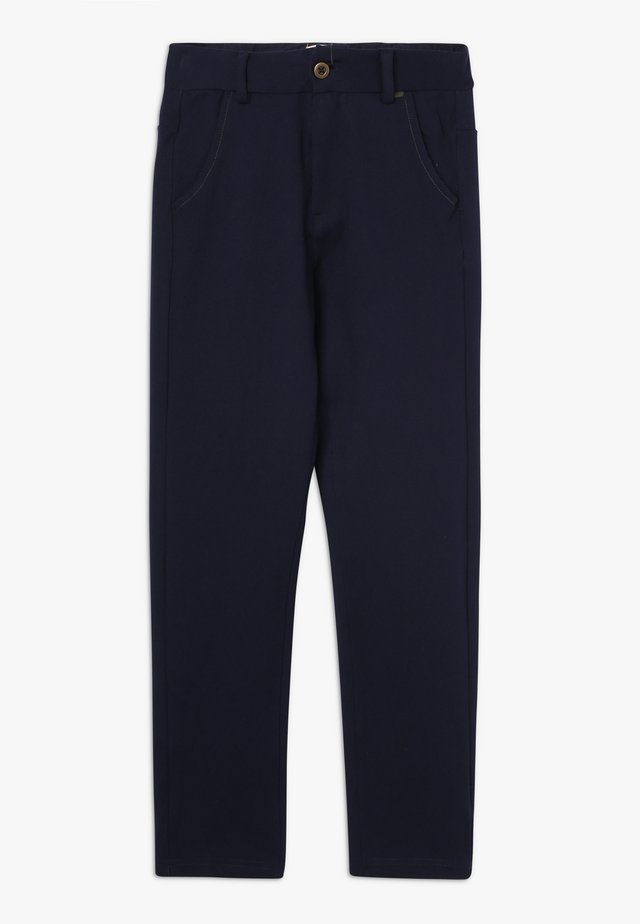 SIGVART PANTS - Suit trousers - carbon