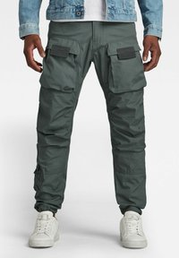 G-Star - STRAIGHT TAPERED  - Cargo trousers - graphite - 0