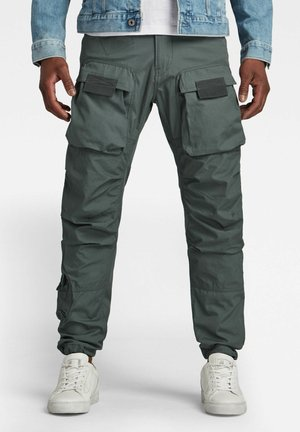 STRAIGHT TAPERED  - Cargo trousers - graphite