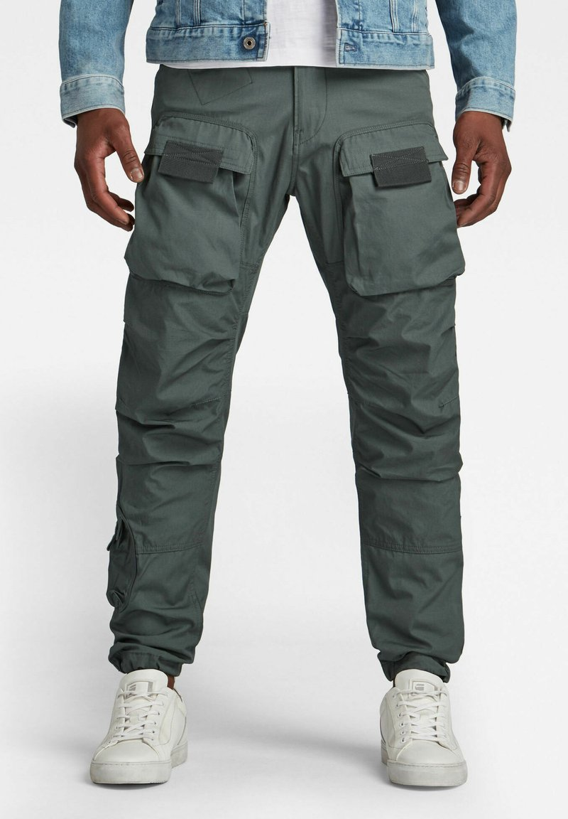 G-Star - STRAIGHT TAPERED  - Cargo trousers - graphite