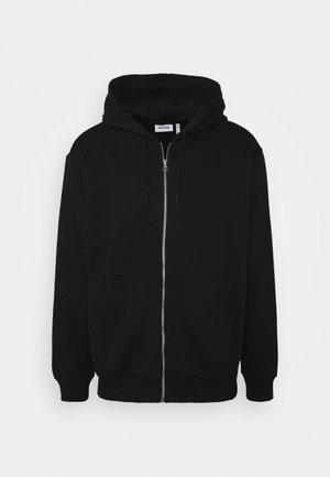 STANDARD ZIP HOODIE - Mikina na zip - black