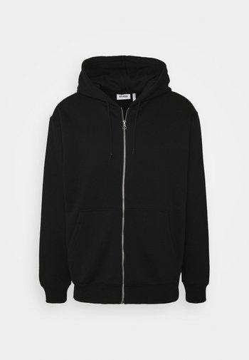 STANDARD ZIP HOODIE - Zip-up hoodie - black