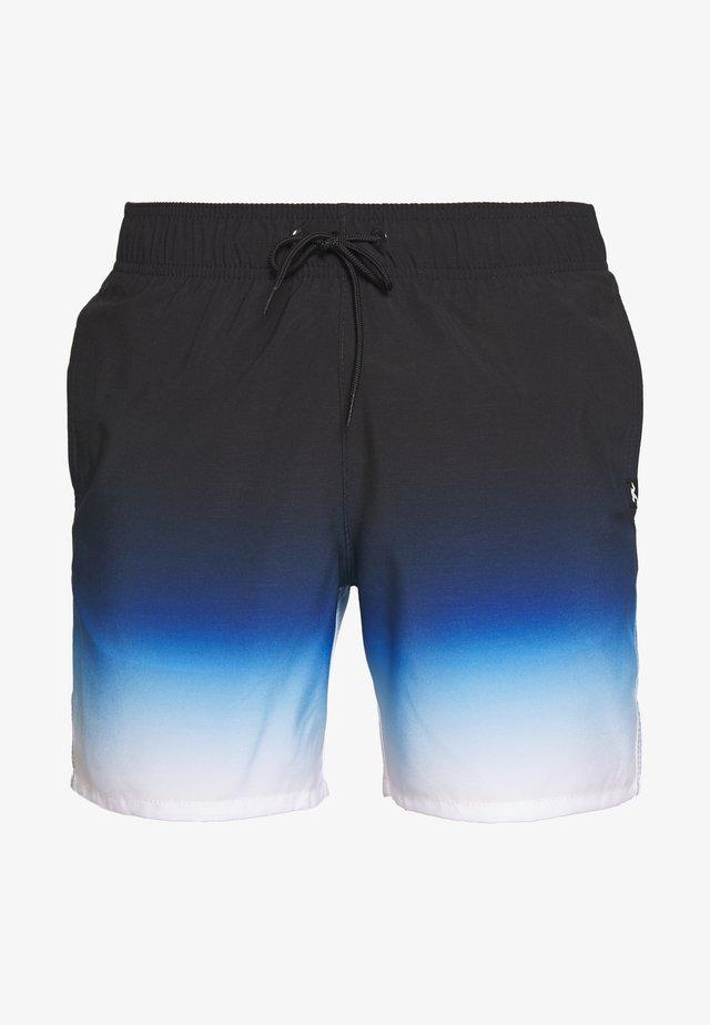 OMBRE GUARD CHAIN - Short de bain - black/blue/white
