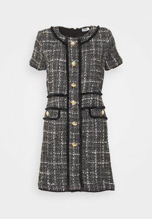 ABITO - Day dress - nero/bianco/oro