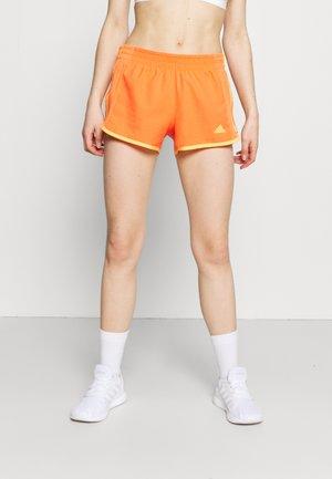SHORT COOLER - Pantalón corto de deporte - true orange/hazy orange