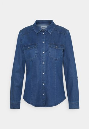 ONLROCKIT LIFE - Overhemdblouse - medium blue denim