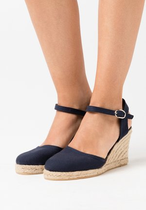Sandalias de tacón - dark blue