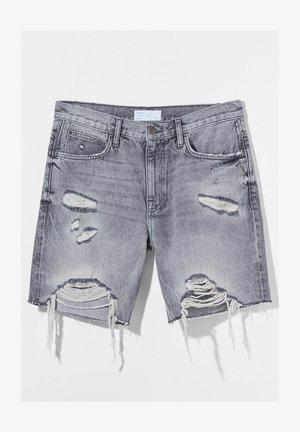 Jeansshorts - grey