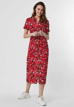 Skjortklänning - goji berry