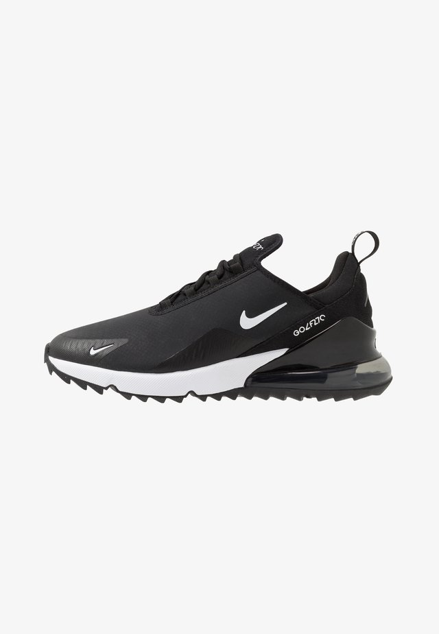 AIR MAX 270 G - Golf shoes - black/white/hot punch