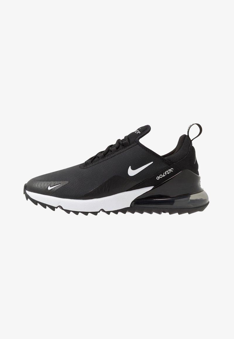 Nike Golf - AIR MAX 270 G - Obuwie do golfa - black/white/hot punch