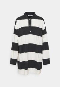 Weekday - KALANI - Long sleeved top - off black/white - 3