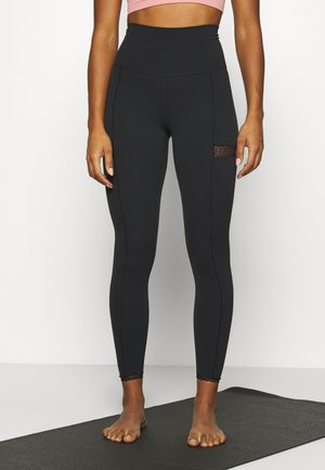 YOGA - Legginsy - black