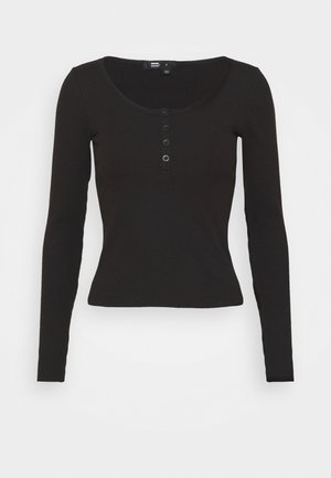 TONI LONG SLEEVE - Long sleeved top - black