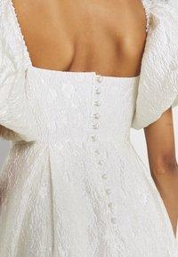 Sister Jane - HANDWRITTEN DRESS - Společenské šaty - ivory - 7
