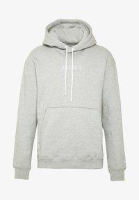 Nike Sportswear - HOODIE - Bluza z kapturem - grey heather - 4