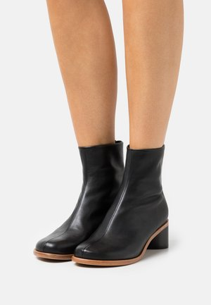 ANSLEY MID - Classic ankle boots - black