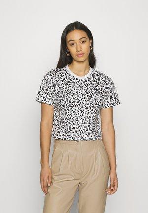 CLASSICS LOGO TEE - Print T-shirt - vaporous gray