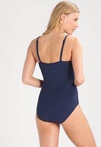Seafolly - TWIST BANDEAU MAILLOT - Swimsuit - indigo - 3