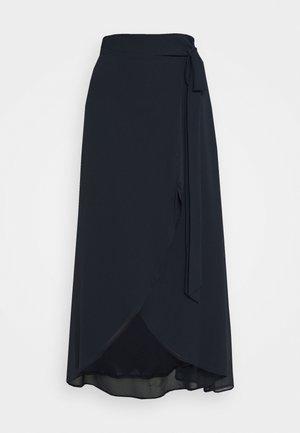 DILLY SKIRT - Maxi sukně - navy