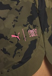 Puma - THE FIRST MILE SHORT - Sports shorts - burnt olive - 5