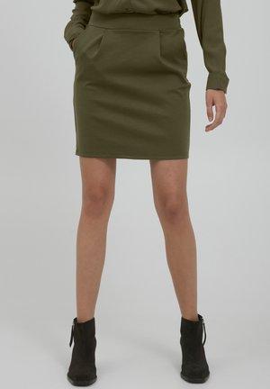 KATE - Mini skirt - ivy green
