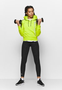 Champion - HOODED - Huppari - neon green - 1