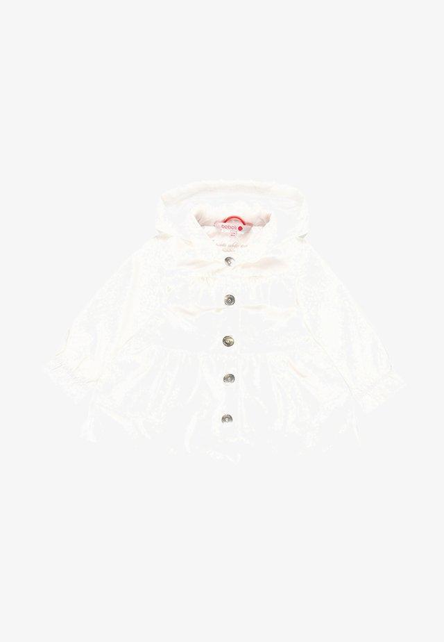 GABARDINE - Košilové šaty - white