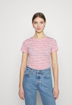 CECILE - Print T-shirt - pink