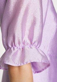 Gina Tricot - MILLY WRAP DRESS - Juhlamekko - light purple - 5