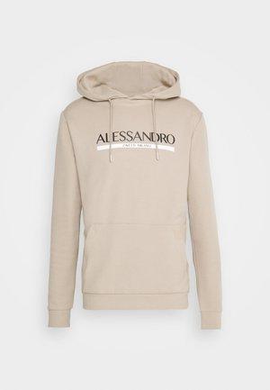 VERSENIO HOOD - Sweatshirt - sand