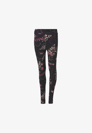 CHICA - Leggings -  black-peachskin