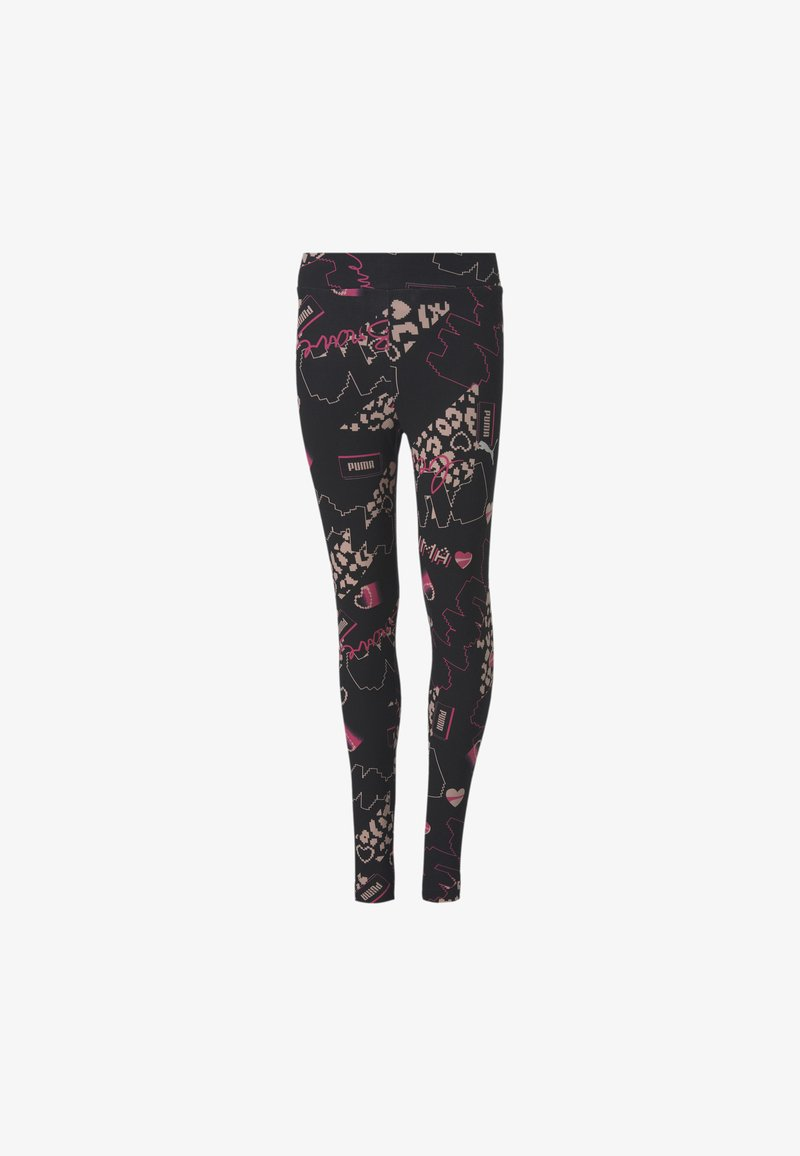 Puma - CHICA - Leggings -  black-peachskin