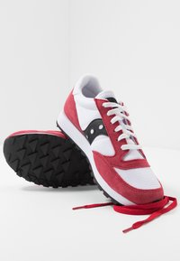 Saucony - JAZZ ORIGINAL VINTAGE - Sneaker low - white/red/black - 5