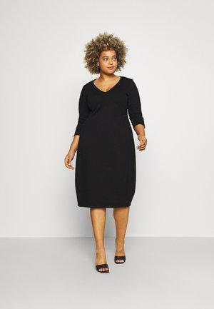 OSAKA - Jersey dress - black