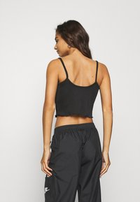 Nike Sportswear - TANK CROP - Top - black - 2