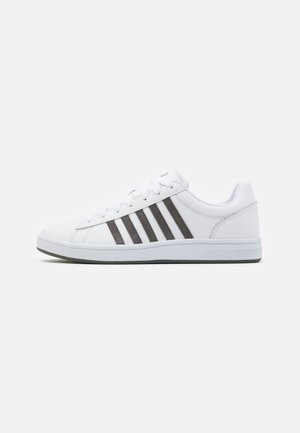 COURT WINSTON - Trainers - white/charcoal