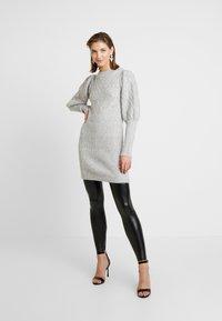 Cotton On - CHELSEA HIGH WAISTED - Leggings - black - 1
