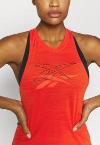 Reebok - TANK - Camiseta de deporte - red - 5