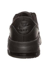 Nike Sportswear - AIR MAX EXCEE - Trainers - black / black / black - 3