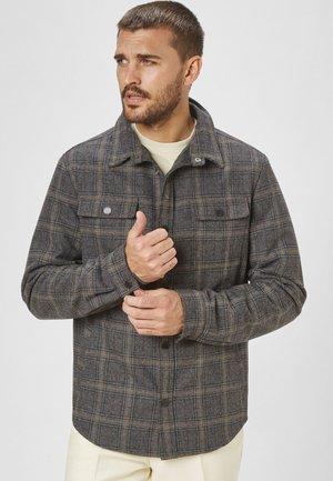 ROBIN - Light jacket - grey black check