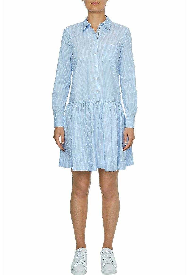 Tommy Hilfiger - Shirt dress - light blue